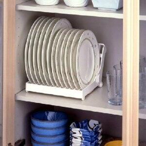 1 шт. Творческий складное блюдо сушилка для тарелок кухонный Органайзер хранилище держатель Кухня аксессуары ящик дренажная стойка