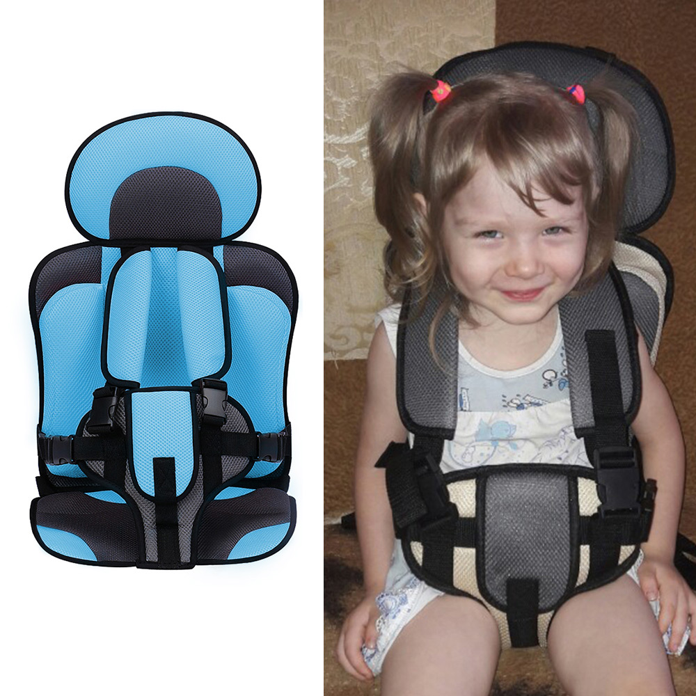 Simple Child Seat Cushion Child Or Baby Seat And Baby Sofa Simple Child Cushion Multicolored Portable Children's Cushion