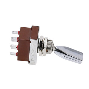 Image 4 - 1pcs KN3 203 toggle switch 3 Positions rocker  ON OFF ON 6pins  DPDT 3A/250V Handle Switch