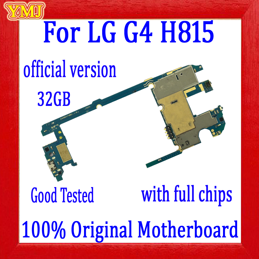 Official version Good Tested for <font><b>LG</b></font> G4 <font><b>H815</b></font> <font><b>Motherboard</b></font>,32GB 100% Original unlocked for <font><b>LG</b></font> G4 <font><b>H815</b></font> Mainboard with full Chips image