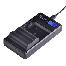 1 Pc EN-EL15 EL15 EN-EL15a ENEL15a En EL15a Batterij + Lcd Dual Charger Voor Nikon D7000 D610 D7100 D850 D600 d810 D750 D7500