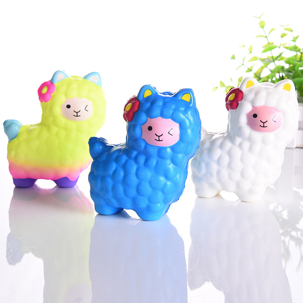 Cute Camel Squishy Toys PU Decompression Toy Cartoon Candy Slow Rebound Toys Stress Relief Relax Pressure Toys Interesting Gifts