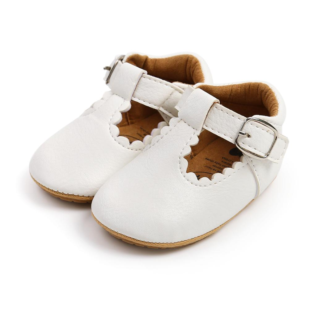 Luxury Soft Leather Baby Princess Shoes Newborn Girls Moccasins Shoes Rubber Sole Prewalker Non-slip Hollow Summer First Walkers 6