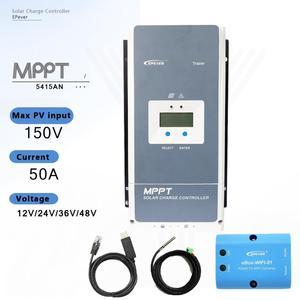 Контроллер солнечного зарядного устройства EPever, 12 В, 24 В, 36 В, 48 В, макс. 150 в