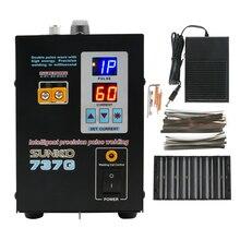 Двойной цифровой дисплей аккумуляторная машина для точечной сварки SUNKKO 737G литиевая батарея Сварочный аппарат двойная импульсная волна с высокой энергией