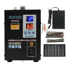 Dual Digital Display Battery Spot Welding Machine SUNKKO 737G Lithium Battery Welding Machine Double Pulse Wave With High Energy