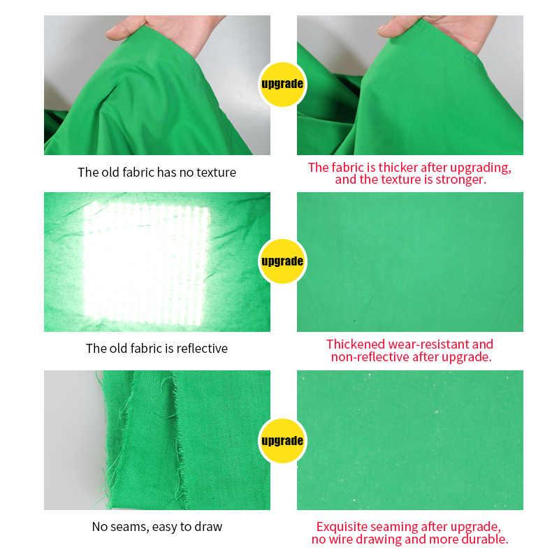 Fondo de fotografía fondos pantalla verde Chroma llave para foto muselina para estudio fondos 5 colores