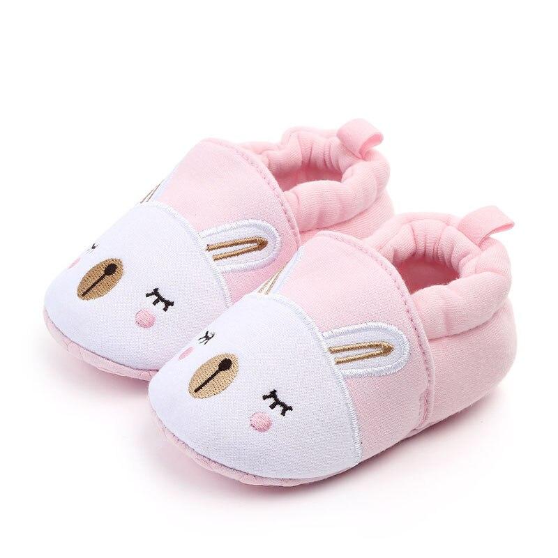Зимние сапоги для маленьких девочек обувь новорожденного Зима Осень Теплые мягкие носки подошва плюшевые ботиночки - Цвет: A2