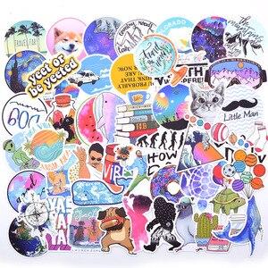 Image 2 - 20 스타일 Vsco 스티커 것들 50PCS 팩 쿨 핑크 소녀 스티커에 대 한 노트북 냉장고 전화 스케이트 보드 가방 스티커