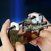 2 шт./лот PUBG Moible контроллер геймпад Бесплатный огонь L1 R1 триггер PUGB мобильные клавиатуры сцепление L1R1 джойстик для IPhone Android телефон
