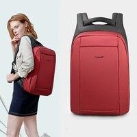 Tigernu impermeabile antifurto femminile Mochila zaino per Laptop da 15.6 pollici zaini USB zaino da viaggio per scuola di moda zaino per donna