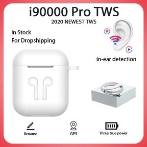 Original i90000 Pro TWS 1:1 In-ear Blutooth Earphone Mini Wireless Headset Headphones Elari PK Aire 2 3 Fone De Ouvido Bluetooth