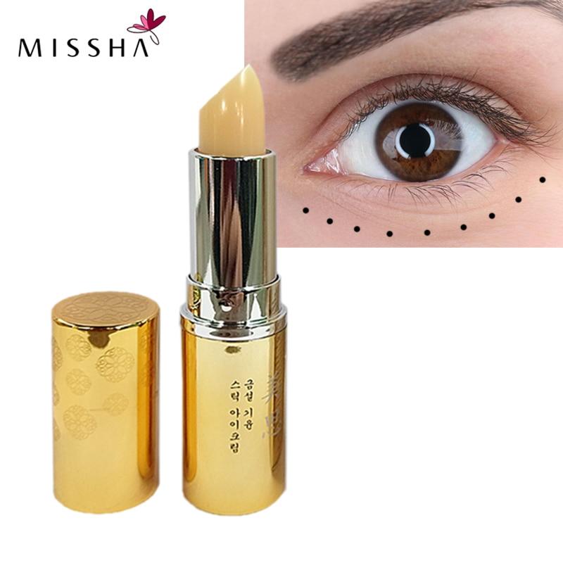 MISSHA Eye Cream Skin Care Moisturizing Anti Wrinkles Anti-Aging 3.5g Eye Cream For Daytime Use Korean Cosmetics