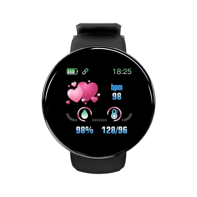 K Smart Watch Multi Languages Sports Bracelet Multifunctional Activity Fitness Track Blood Pressure Monitor Intelligent Band