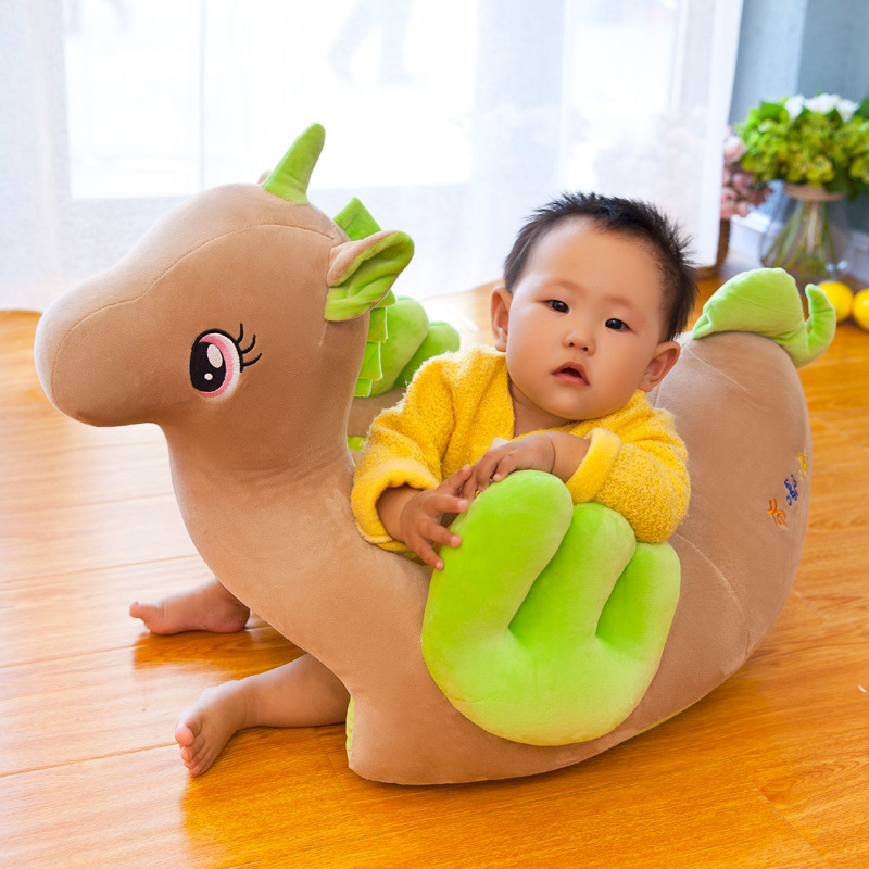 New Style Cartoon Baby Learn Sit Chair Unicorn Children The Small Sofa Newly Born Nurseling Drop Seat Kid Chairs Kids Sofa