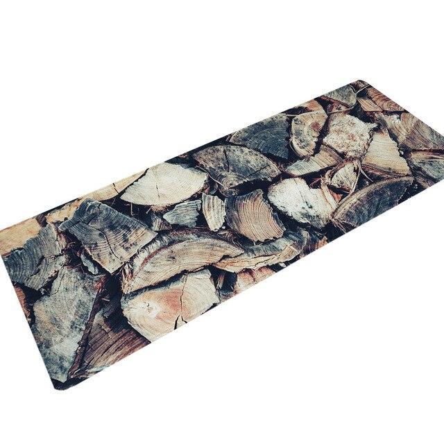 Zeegle alfombra de cocina larga antideslizante alfombra de sala de estar alfombra de dormitorio alfombra de puerta lavable alfombra de pasillo alfombra de pie absorbente