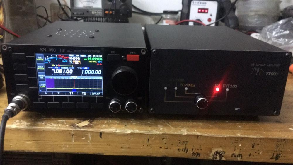 KP990 100W de onda corta HF amplificador de potencia para KN-850 KN-990 de onda corta transceptor FT-817 FT-818 KX3 QRP