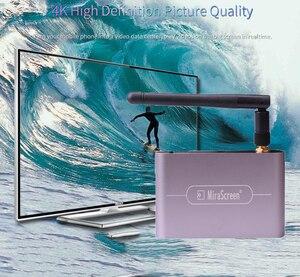 Image 3 - 4K 5G 1080P HDTV 스틱 HDMI VGA 3.5MM 오디오 무선 Wifi 디스플레이 동글 어댑터 스크린 미러 IOS 안 드 로이드 전화 TV 프로젝터