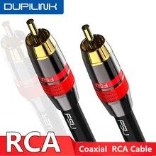 RCA zu RCA Kabel Digital Coaxial Audio Kabel Männlichen Stereo Stecker für TV DVD Verstärker Hifi Subwoofer Toslink 1 2 3 5 m