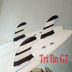 Image 5 - Ensemble de dérives de planche de surf 3 pièces, pour FCS box G7, en fibre de verre nid dabeille de carbone taille L FCS, offre spéciale