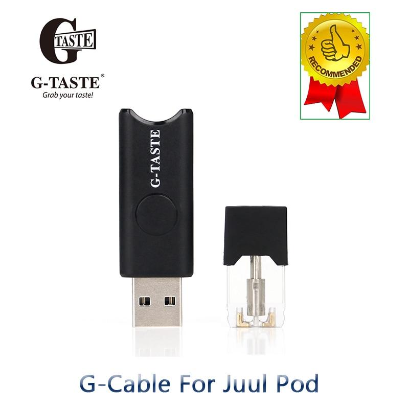 Portable E-cigarette USB Port Battery Connector For Juul Pod Cartridge Vape Pen Kit Electronic Cigarette Accessories