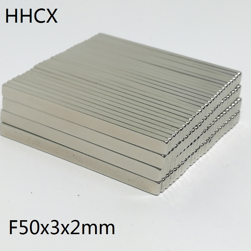 5 10 20 50pcs/lot <font><b>magnet</b></font> 50*3*2 mm N35 Strong NdFeB Rare Earth <font><b>Magnet</b></font> 50x3x2mm Neodymium <font><b>Magnets</b></font> <font><b>50mm</b></font> x 3mm x 2mm image