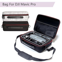 Carry Case Bag For DJI Mavic Pro Drone Accessories Storage Shoulder Box Backpack Handbag Suitcase for Mavic Pro Cable
