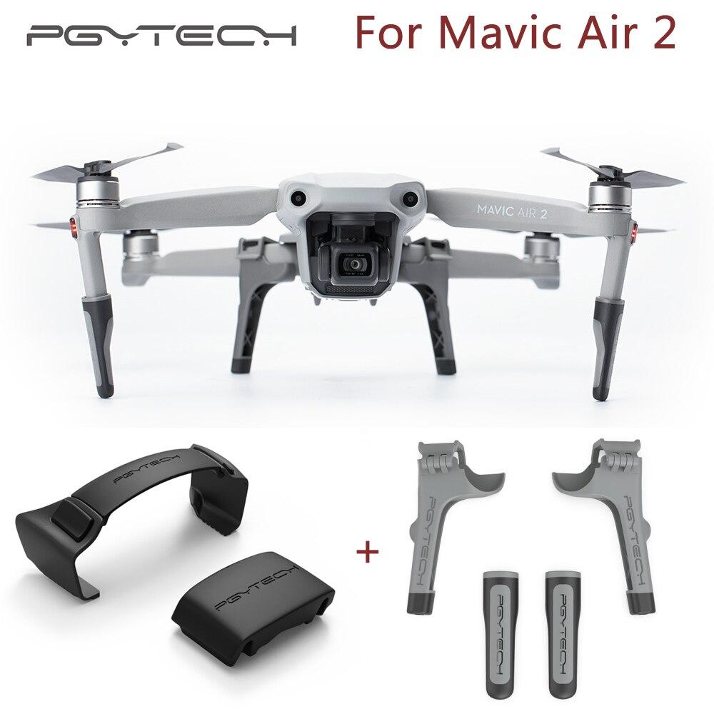 PGYTECH Mavci Air 2 Propeller Holder   Landing Gear Extention for DJI Mavic Air2 Accessories Combo
