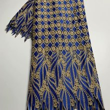 TG19 Most popular design African cord lace fabric,high quality embroidered water soluble lace for fashion dress!