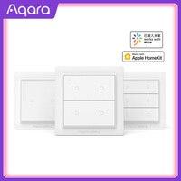Aqara Opple Zigbee Smart Switch Interruttore Della Luce Intelligente App di Controllo Interruttore A Parete Senza Fili di lavoro con Norma Mijia App Apple Homekit