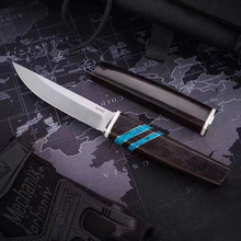 Straight Knife Fixed-Blade M390-Powder Steel Hunting-Survival Japanese Edc-Tool Outdoor