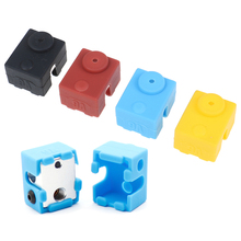 1Pc Protective Silicone Sock Cover Case For 3D Printer Parts V6 Heater Block