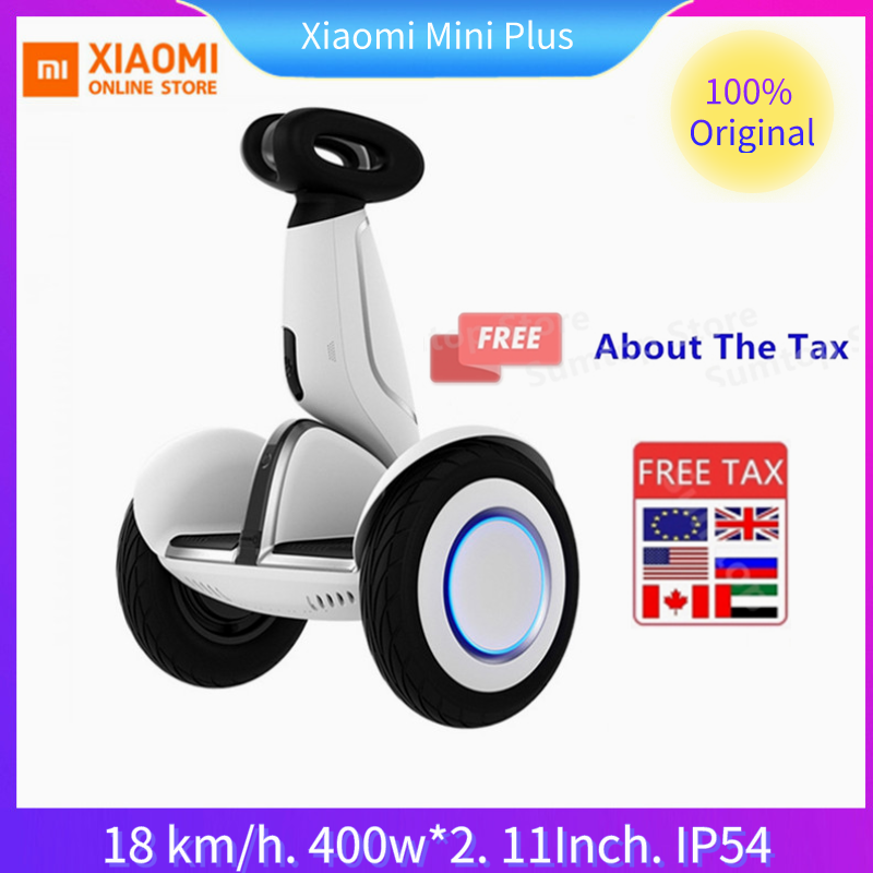 Original Xiaomi Mijia Mini Plus inteligente auto equilibrio Scooter aerotabla inteligente Ninebot eléctrico de 2 ruedas Hover de Skateboard