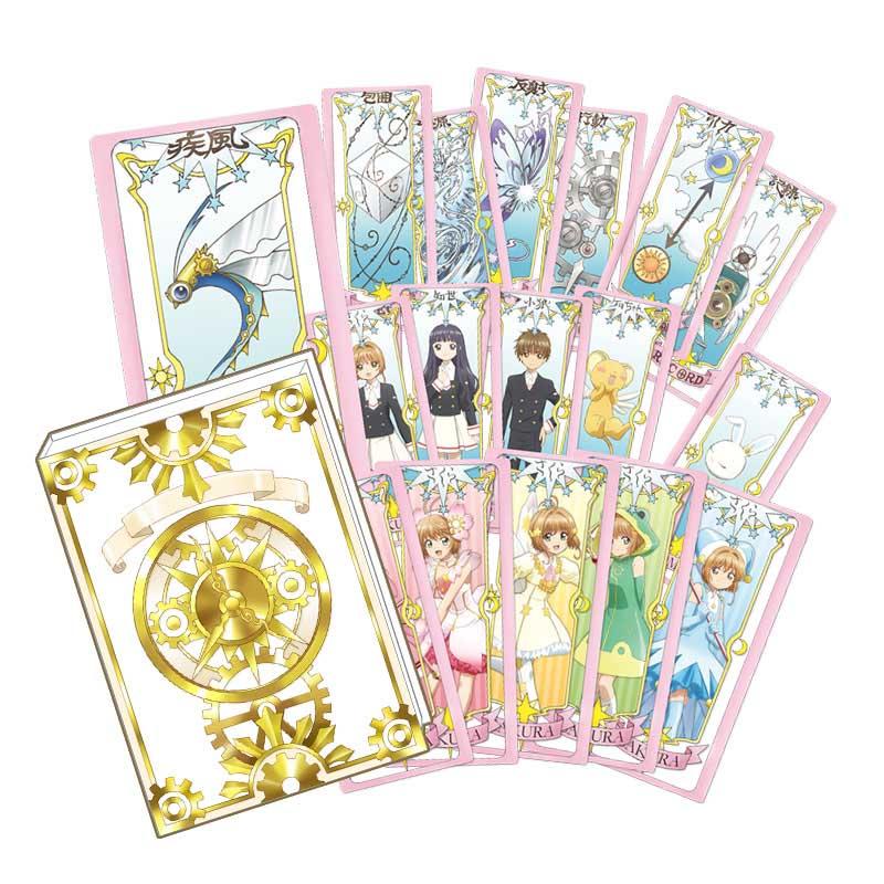 Genuine License CARD CAPTOR SAKURA CLEAR CARD collection clow cards