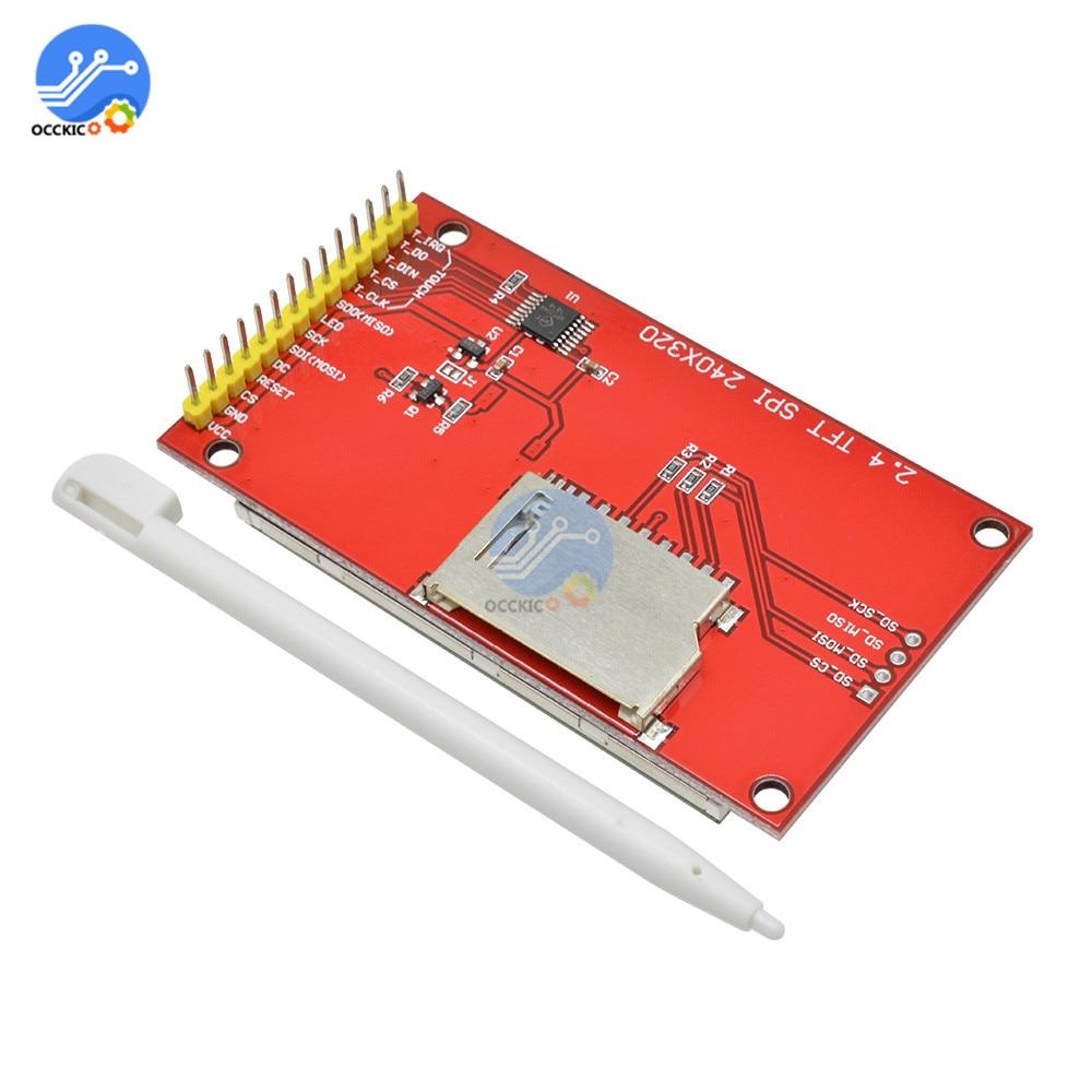 """240x320 2,"""" SPI серийный TFT ЖК-модуль дисплей экран с сенсорной панелью Драйвер IC ILI9341 SPI интерфейс порт"""