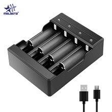 Melasta Universal LED USB 4 sloty ładowarka specjalna do 1.6V NI ZN AA/AAA bateria NI ZN NIZN z ładowarką do baterii z kablem USB