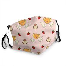 Respirator Cardcaptor Sakura Face-Mask Mouth Anti-Haze Non-Disposable Muffle Dustproof-Protection-Cover