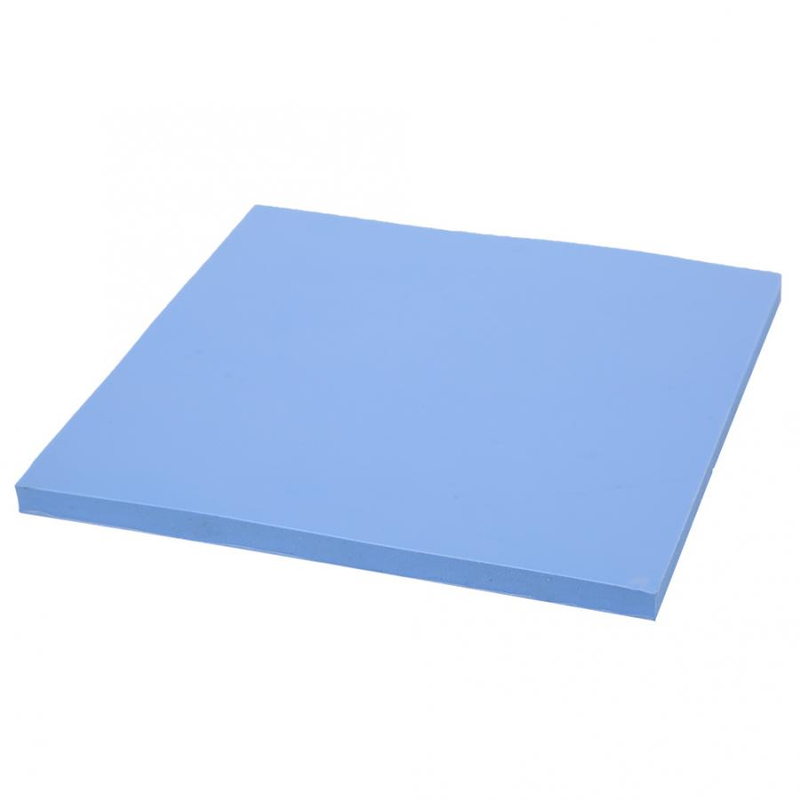 100 x 100 x 5mm 1.5W//m-k Soft Silicone Thermal Conductivity Pad High Thermal Conductivity CPU GPU Heat Dissipation Silicone Sheet Thermal Pad