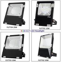 FUTT02 Miboxer 10W/20W/30W/50W Rgb + Cct Led Overstroming Licht IP65 waterdichte Outdoor Verlichting Voor Tuin AC86-265V