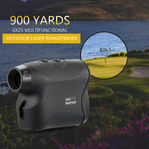 Image 1 - 600M / 900M lazer telemetre avcılık Golf lazer menzil ölçer lazer mesafe ölçer hız test cihazı dijital ölçüm monoküler