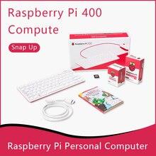 Raspberry Pi 400 персональный компьютерный набор 64-разрядным четырёхъядерным процессором 4 Гб Оперативная память Wi-Fi с двойным экраном Выход для с...