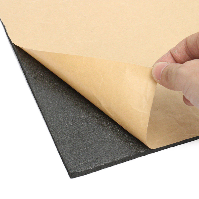 30x50cm Auto Firewall Sound Heat Insulation Deadening Car Soundproofing Self Adhesive Self Adhesive Auto Foam Self Adhesive
