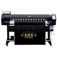 large format banners for car sticker 6ft outdoor banner printing machine with one dx7 head banner printing poster printer