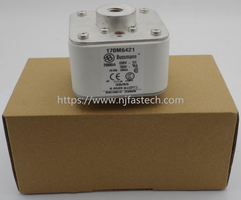 New original 170M6421 2000A 500V 3BN/65 AR UR High-speed square body fuse-link ceramic fuse