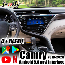 Multimedia-Interface Netflix Lsailt Android Waze Camry Carplay-Box Youtube for Support