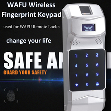 WAFU Wireless Fingerprint Keypad Password Controller 433Mhz for Remote Control WAFU Smart Door LockWF-010/WF-011