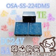 Todos os novos OSA-SS-224DM5 entrega 5a/250vac24vdc relé HF42F-024-2HS