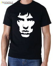 RICHARD ASHCROFT THE VERVE ROCK INDIE MUSIC T SHIRT FREE UK POSTAGE Short Sleeve Cotton Shirts Man Clothing