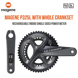 Magene P325L/R Single Power Meter With Crankset ULTEGRA R8000 Drive SHIMANO Road Bike Accessory Parts Rechargeable Computer