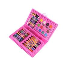 42Pcs/Set Kids Art Drawing Painting Tool Marker Pens Wax Crayon Oil Pastel Gift